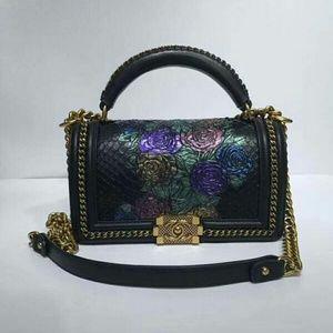 Chanel flap handbag